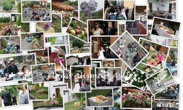 Deoración de Flores Alisma - Avilés -  para la boda en Illas de Maria & Ivan