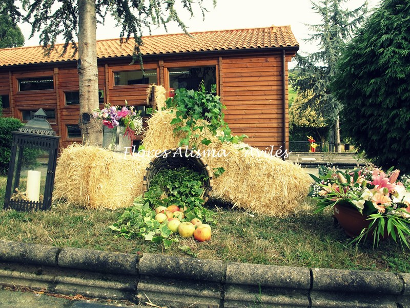 Otro rincón donde disfrutar de esta boda de verano donde no faltó detalle