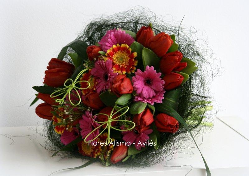 Ramo de flores para regalar a la madrina