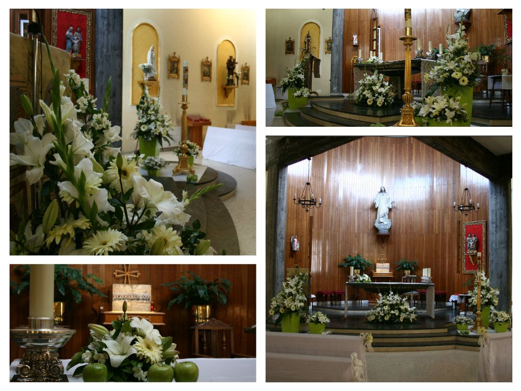 Decoración de Iglesia para comuniones