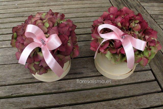 Centro de mesa  Flores Alisma - Avilés