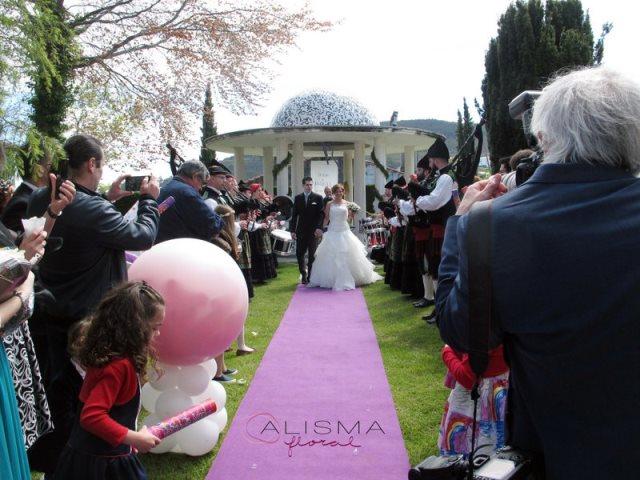 Decoración para boda en La Casona de Lupa Flores Alisma