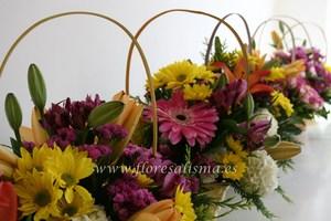 cestas primaverales