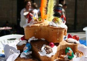 Bollo de Pascua tradicional de Avilés