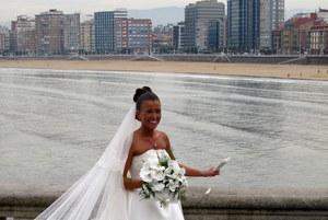 Ramo de novia Bouquet de phalenopsis