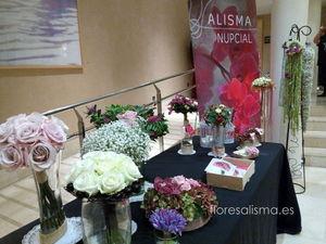 Flores Alisma en La Mia Vida pasarela de la moda en Avilés