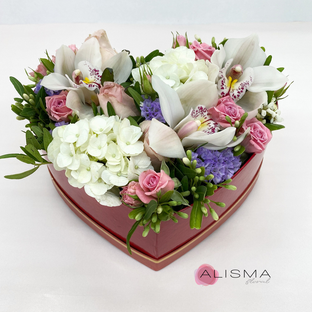 Flores Alisma -  San Valent�n - Flores Alisma