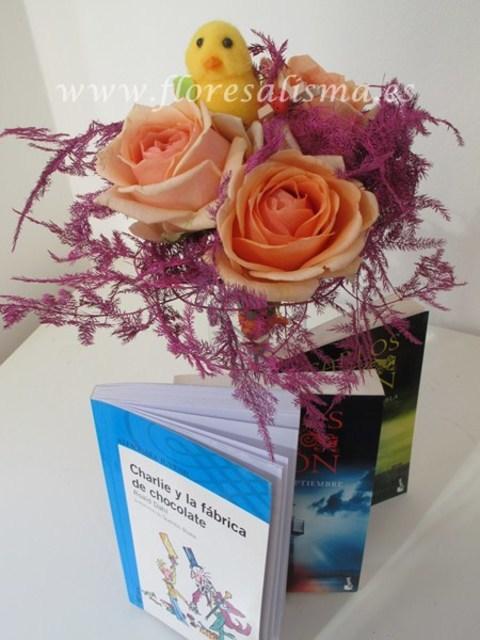 Flores Alisma - 23 de Abril, Día del Libro, de Cervantes y de la Rosa - Flores Alisma