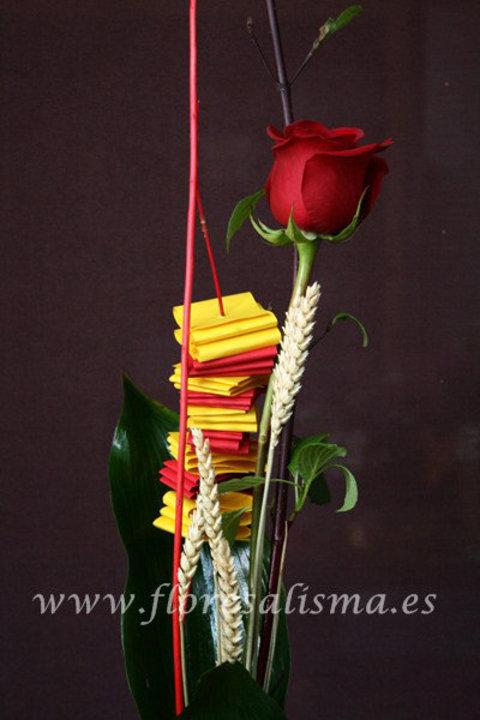 Flores Alisma - Sant Jordi y la Rosa - Flores Alisma