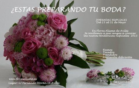 Flores Alisma - Jornadas Nupciales - Flores Alisma