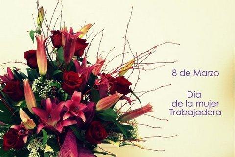 Flores Alisma - 8 de Marzo Día Internacional de la Mujer - Flores Alisma