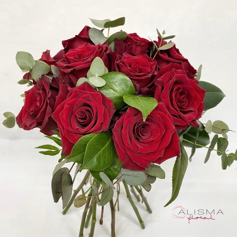 Flores Alisma - Bouquet de rosas - Flores Alisma