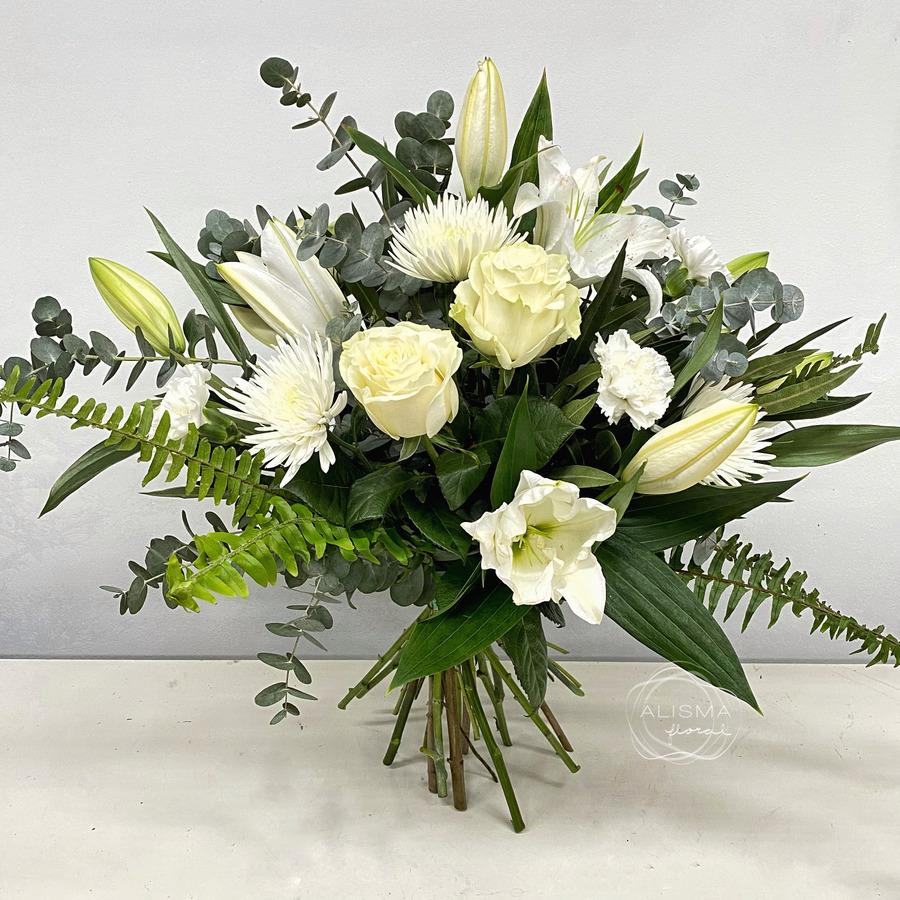 Flores Alisma - Ramo variado blanco - Flores Alisma