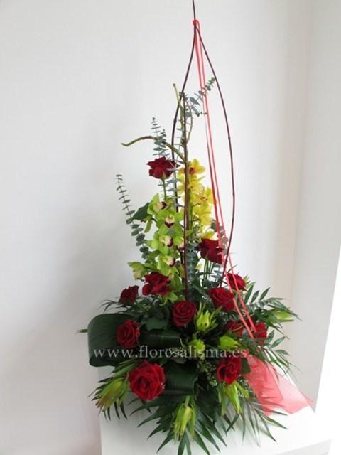 Flores Alisma - Centro de orquídeas y rosas - Flores Alisma