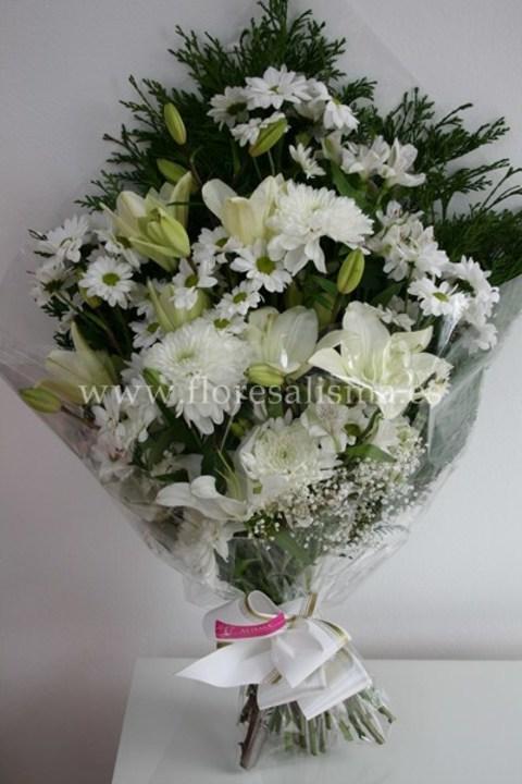 Flores Alisma - Ramo funerario - Flores Alisma