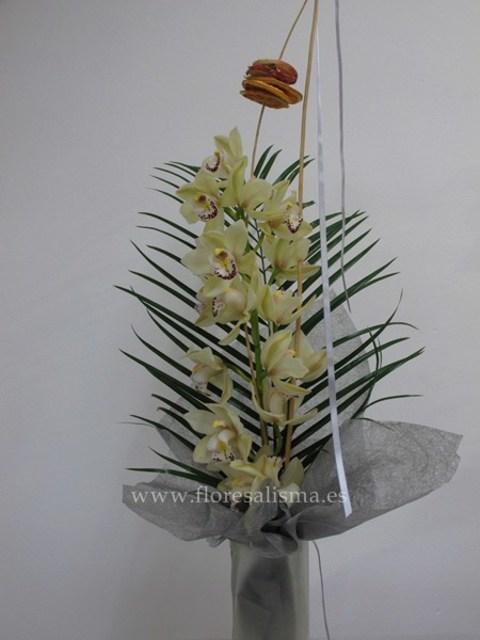 Flores Alisma - Ramo de orquídeas  - Flores Alisma