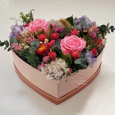 Flores Alisma - Jarrón con flores exóticas  - Flores Alisma