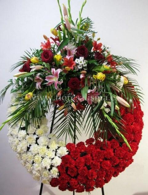 Flores Alisma - Corona tradicional   - Flores Alisma