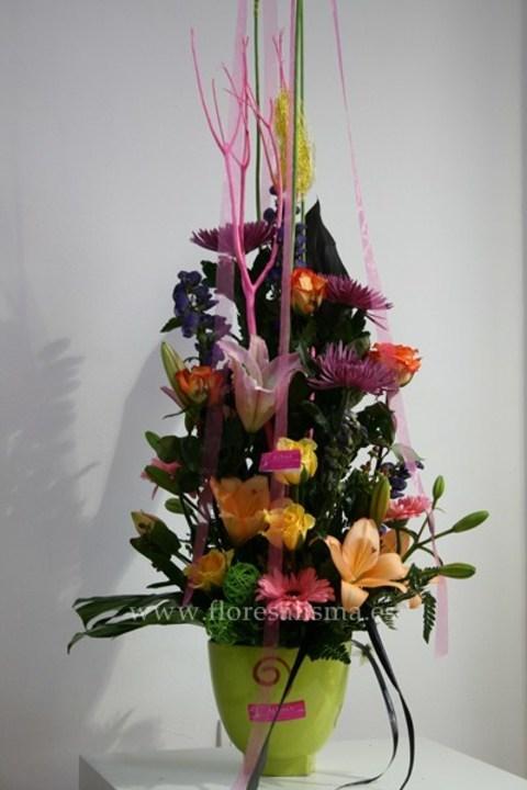 Flores Alisma - Centro vertical - Flores Alisma